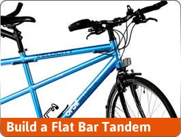 Build a Flat Bar Tandem 700c