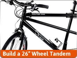 Build a Flat Bar Tandem 26""